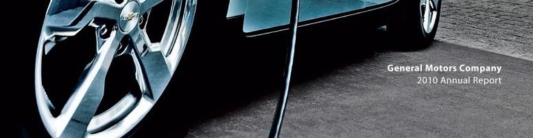 General Motors Company 2010 Annual Report